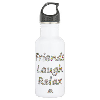 Summer Collection- Friends, Laugh, Relax & Tan 532 Ml Water Bottle