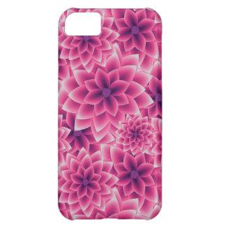 Summer colorful pattern purple dahlia iPhone 5C case