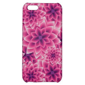 Summer colorful pattern purple dahlia iPhone 5C covers