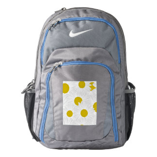 Summer colorful pattern purple marguerite backpack
