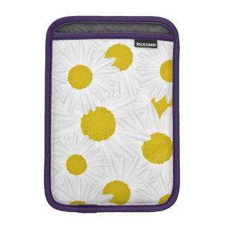 Summer colorful pattern purple marguerite iPad mini sleeve