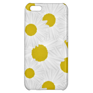Summer colorful pattern purple marguerite iPhone 5C covers