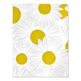 Summer colorful pattern purple marguerite magnetic card