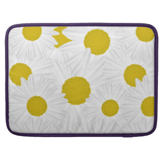 Summer colorful pattern purple marguerite sleeve for MacBooks