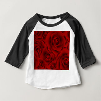 Summer colorful pattern rose baby T-Shirt