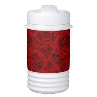 Summer colorful pattern rose drinks cooler