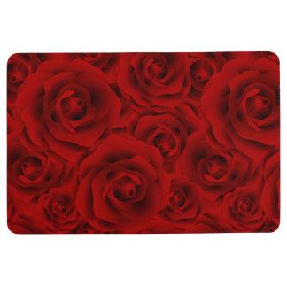 Summer colorful pattern rose floor mat