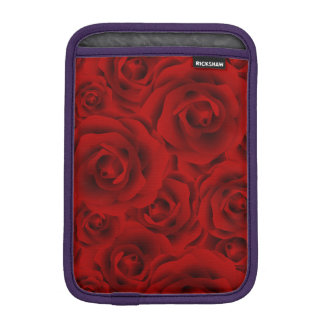 Summer colorful pattern rose iPad mini sleeve