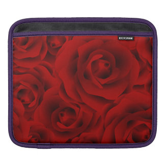Summer colorful pattern rose iPad sleeve