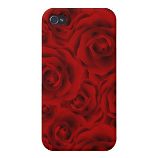 Summer colorful pattern rose iPhone 4/4S case
