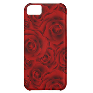 Summer colorful pattern rose iPhone 5C case