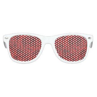 Summer colorful pattern rose kids sunglasses