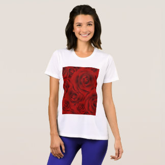 Summer colorful pattern rose T-Shirt