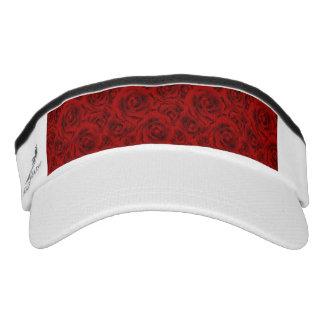 Summer colorful pattern rose visor