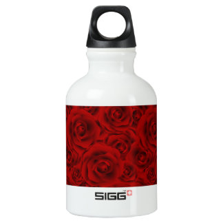 Summer colorful pattern rose water bottle