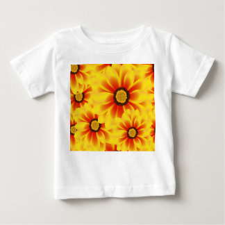 Summer colorful pattern yellow tickseed baby T-Shirt