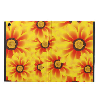 Summer colorful pattern yellow tickseed case for iPad air