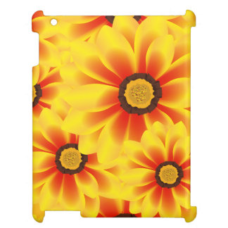 Summer colorful pattern yellow tickseed iPad covers