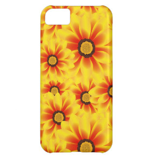 Summer colorful pattern yellow tickseed iPhone 5C case