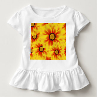 Summer colorful pattern yellow tickseed toddler T-Shirt