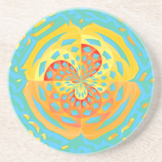 Summer colors coaster