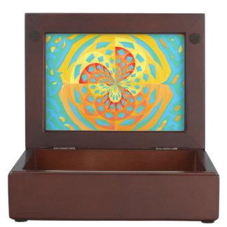 Summer colors keepsake box