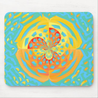 Summer colors mouse pad