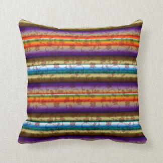 Summer Colors Red Green Blue American MoJo Pillows Throw Cushions