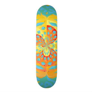 Summer colors skateboard deck