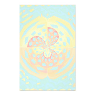 Summer colors stationery