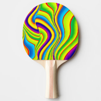 Summer Colors Waves Ping Pong Paddle