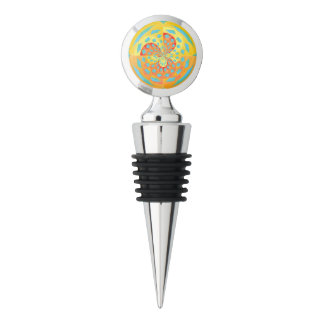 Summer colors wine stopper