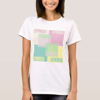 summer colour t shirt, summer color t T-Shirt