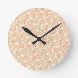 Summer Cottage Fleur Round Wallclocks