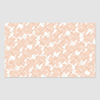 Summer Cottage Fleur Rectangular Stickers