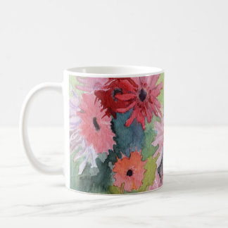 Summer Daisies Art Mug
