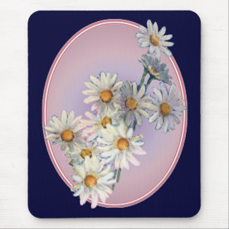 SUMMER DAISIES by SHARON SHARPE Mouse Pad