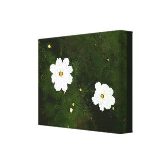 Summer Daisies Canvas Gallery Wrapped Canvas