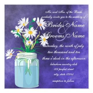 Summer Daisies Wedding Invitations