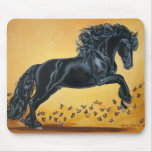 Summer Dance with Butterflies Mouse Pad