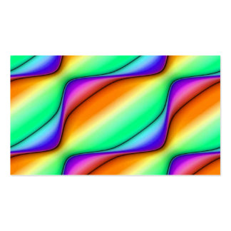 Summer Day Abstract Pack Of Standard Business Cards