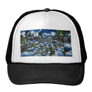 Summer day mesh hat