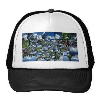 Summer day trucker hat