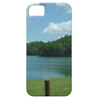 Summer Day Lake Scene Barely There iPhone 5 Case