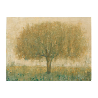 Summer Day Tree II Wood Wall Decor
