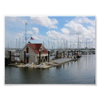 Summer Days At The Charleston Marina Photo Print