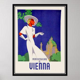 Summer days in Vienna Print