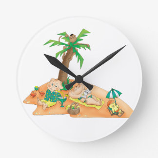 Summer Days Kid's Wall Clock