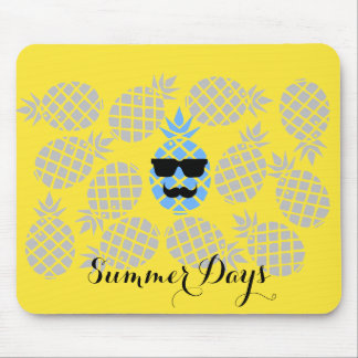 """Summer Days"" Pineapple Mouse Pad"