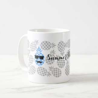 """Summer Days"" Pineapple Mug"